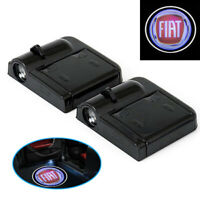 E18 2 Stück Wireless Auto Tür Licht LED Willkommen Projector Logo für Auto FIAT