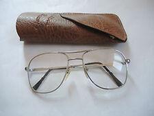 Klassiker Antike Vintage Brille ca. 70er 70s mit Stärke Metallgestell Meitzer