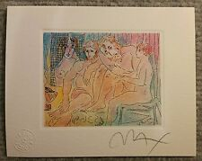 Peter Max lithograph. Signed by the artist
