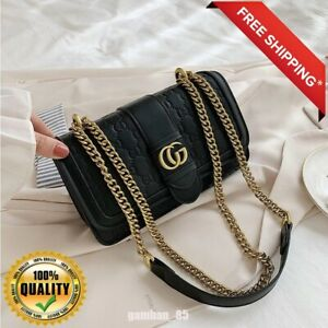 Authentic Gucci Women Small GG Cross Body Hand Bag