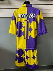 Jorge Campos Soccer Uniform final 1999 copa confederaciones Yellow,purple,#1