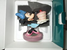 """NIB WDCC Disney's """"The Whirlwind"""" Minnie Mouse """"For My Sweetie"""" Cake COA"""