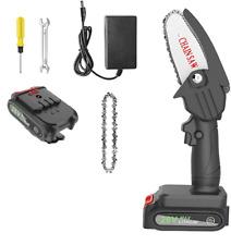 Mini Motosega a batteria Portatile e Ricaricabile per Potatura Giardino 24V