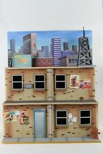 NECA TMNT Teenage Mutant Ninja Turtles Cartoon Toon Street City Building Diorama