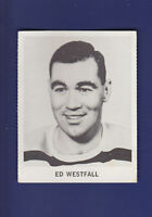 Ed Westfall 1965-66 Coca-Cola Coke Cards Hockey (VGEX) Boston Bruins