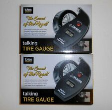 (2) Totes Talking Digital Tire Gauges New In Boxes