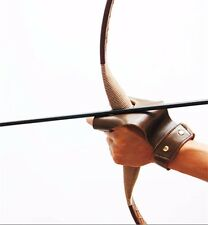 Archery Protect Glove Leather  Finger Hand Guard Hunting Archery Bow Shooting