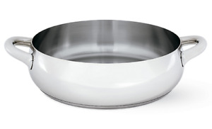Authentic Alessi Mami Low Casserole (Pot Only) Stainless   Design Within Reach