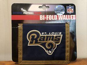 Vintage St. Louis Rams NFL Kids Logo Bi-Fold Wallet
