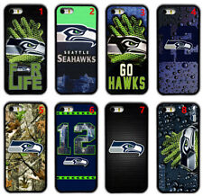 New Seattle Seahawks Football Rubber Phone Case Cover For iPhone / Samsung