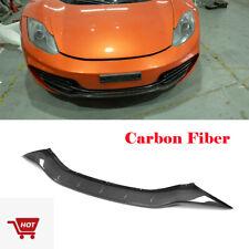 Front Bumper Lip Spoiler Fit For McLaren MP4-12C 2-Door 2011-2014 Carbon Fiber