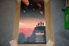 Guillaume Morellec Guardians of the Galaxy Print NYCC Bottleneck