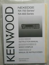 KENWOOD NEXEDGE NX-700 / NX-800 Manual