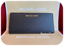 NWT MICHAEL KORS JET SET TRAVEL LARGE CARD CASE CARRYALL WALLET IN VARIOUS