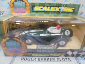 Scalextric C097 Power & Glory Vanwall F1  green #1 BNIB