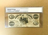 1861 State of Florida, Tallahassee $100 ONE HUNDRED Bill Obsolete Banknote