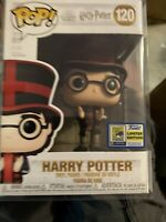 SDCC 2020 Funko POP Harry Potter at World Cup Official Sticker With Protector