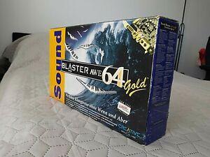 Creative Sound Blaster AWE64 Gold sound card