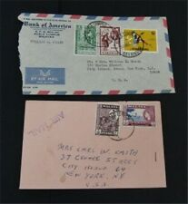 nystamps British Malaya Singapore Stamp Used Early Cover