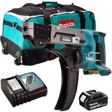Makita DFR550Z 18V LXT Screwdriver With 1 x 3.0Ah BL1830, DC18RC & LXT600 Bag