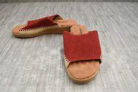 **Walking Cradles Henna Sandal, Women's Size 7M, Red NEW