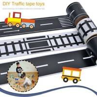 Kids Car Road Adhesive Tape Play Railway Room Floor Sticker Removable Track Toy