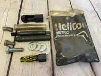 11x Metric Thread Repair Tool Insert Kit M18 1.5 Helicoil Car Coil SET