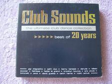3 Musik CD Club Sounds Best Of 20 Years Safri Duo Darude Robin Schulz