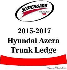 3M Scotchgard Paint Protection Film Clear Bra Fits 2015 2016 2017 Hyundai Azera