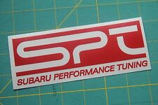 SPT Subaru Performance Tuning Vinyl Sticker Decal JDM WRX STI Impreza Rally