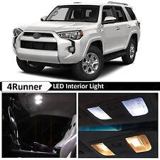 16x White LED Lights Interior Package Kit for 2003-2016 Toyota 4Runner