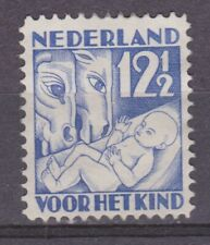 NVPH Netherlands Nederland 235 ong MLH 1930 kinderzegels Pays Bas No Gum