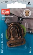 Prym Steckschloss 26x35 mm altmessing  417977