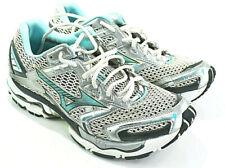 Mizuno Wave Nirvana 6 Women's Running Shoes Sneakers Silver Blue Size 10