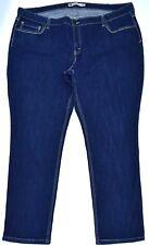 LEVI'S Mid Rise STRETCHABLE Skinny Women Blue Jean Pants Size 24W