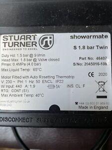 Stuart Turner  46407 Twin Showermate 1.8 Bar