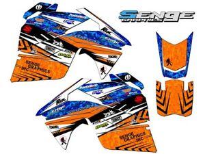 2018 Yamaha SRX 120 Und Sno Scoot 200 Grafiken Set Aufkleber Sticker Deko Tunnel
