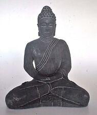 Buddha Statue 7 inch Thai style Indonesian Figurine Lotus Meditation Pose Mudra