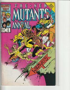 New Mutants Annual 2 Special Edition Graphic Novel Demon Bear Saga TPB 1985-1993