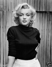 #381 MARILYN MONROE Black & White 8.5 x 11 GLOSSY PICTURE PHOTO  NOT 8 X 10