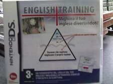 ENGLISH TRAINING   NINTENDO DS  usato