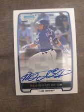2012 Bowman Chrome Rougned Odor Auto #BCA-RO