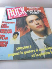 ROCK & FOLK ,N°232 ,JUILLET AOUT 1986, MADONNA , BOB SEGER,  DYLAN (cpa105)
