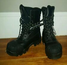 Dakota 7 DW CTCP Men's Black Work Boot Leather Waterproof