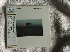 PAT METHENY Bright Size Life ECM Japan 24kt Gold CD Mini-LP OBI NEW