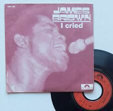 "Vinyle 45T James Brown  ""I cried"""
