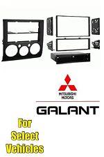 04-13 Mitsubishi Galant Aftermarket Car Stereo Radio Install Mount Dash Trim Kit