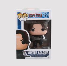 Funko Pop Winter Soldier Marvel Civil War Captain America Vinyl Action Figures
