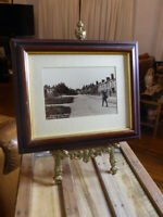 Large Vintage Photograph Print of High Street CRAWLEY, West Sussex by M Phillips