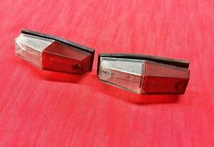 Pair Renault R8. R8Gordini Parking Light  Assembly Used
